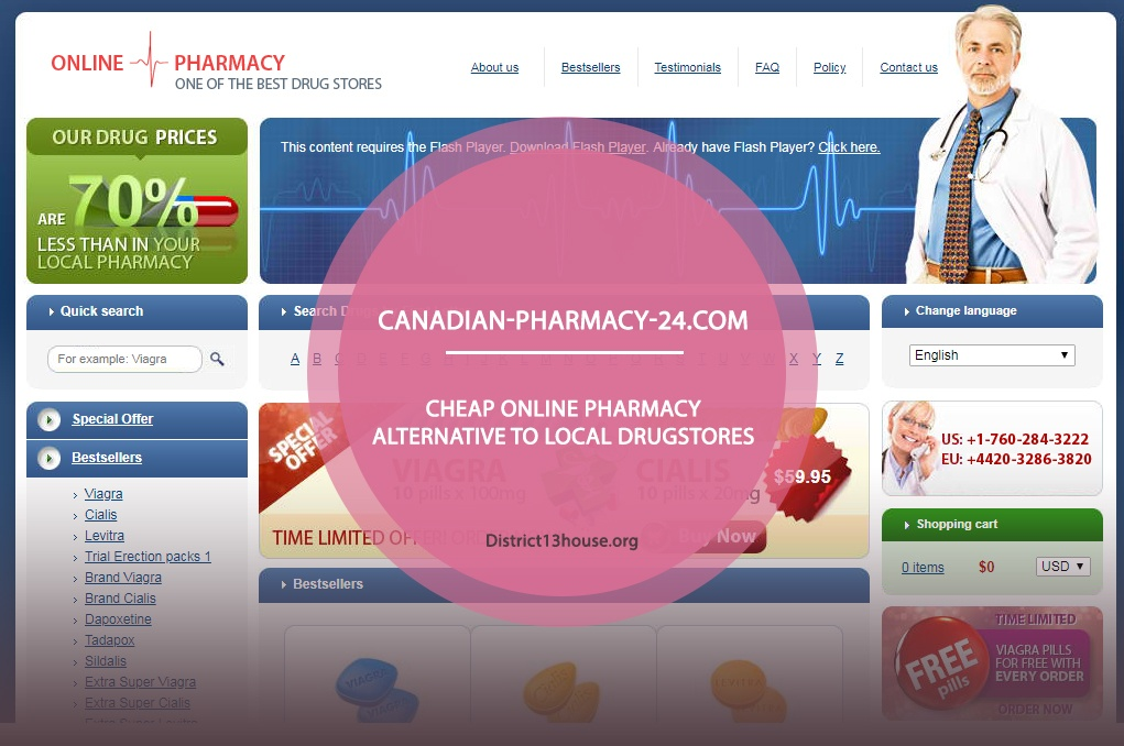 Canadian-pharmacy-24.com Review – Cheap Online Pharmacy Alternative to Local Drugstores
