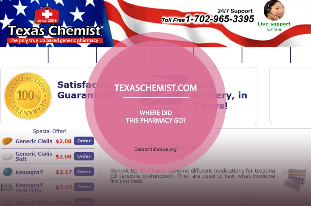 Texaschemist.com Review– Where Did This Pharmacy Go?