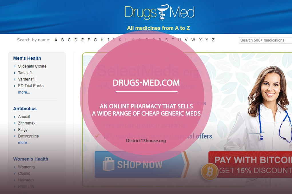 Drugs-med.com Review - An Online Pharmacy that Sells a Wide Range of Cheap Generic Meds