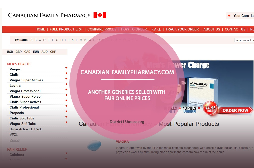 Canadian-familypharmacy.com Review – Another Generics Seller with Fair Online Prices
