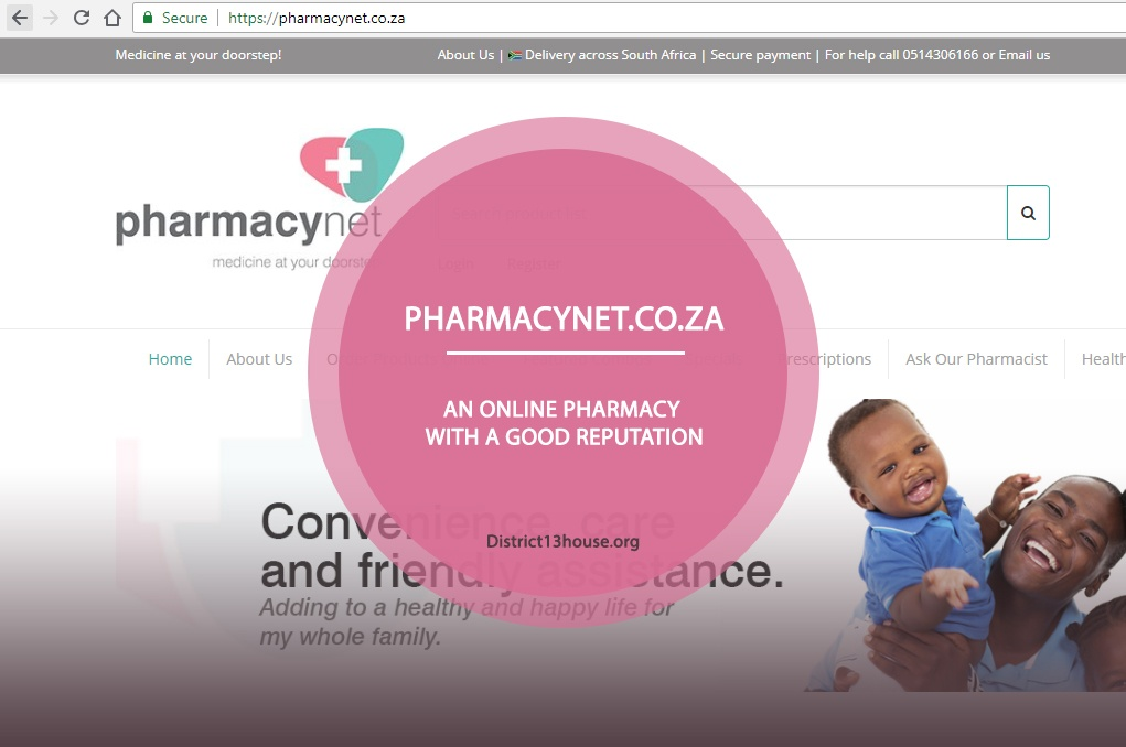 Pharmacynet.co.za Review - An Online Pharmacy with a Good Reputation