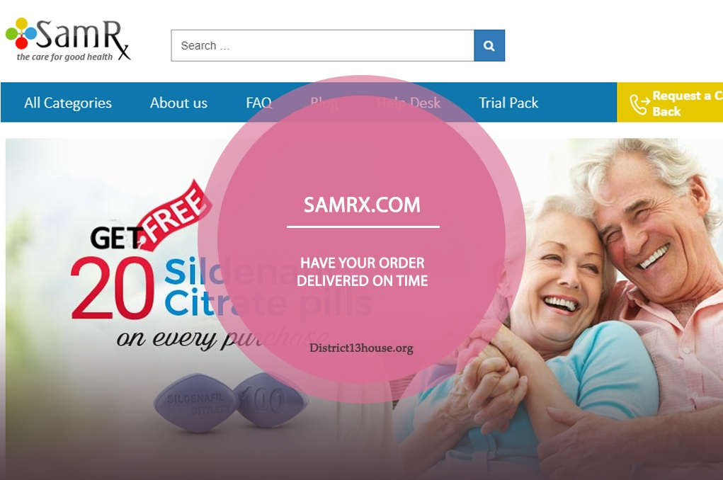 Samrx.com Review: Have Your Order Delivered On Time