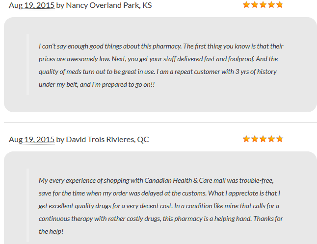 Canadian-healthcare Reviews